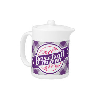 Baseball Mom Tea Pot