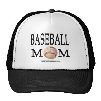Baseball Mom Trucker Hats