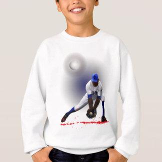 Baseball Monster Wolf Animal Sweatshirt
