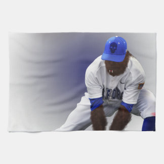 Baseball Monster Wolf Animal Tea Towel