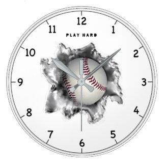 Baseball Motivation Clock