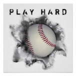 Baseball Motivation Poster