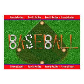 BASEBALL MULTI PURPOSE INVITATION - FIELD INVITE