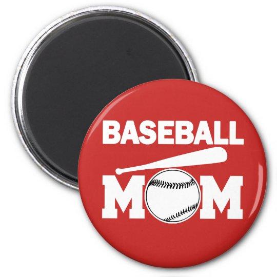 Baseball Mum Magnet