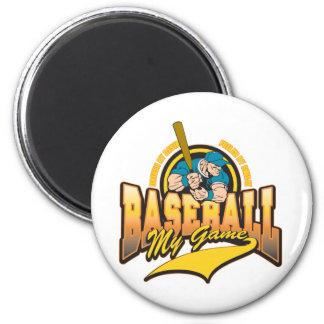 Baseball My Game Fridge Magnets