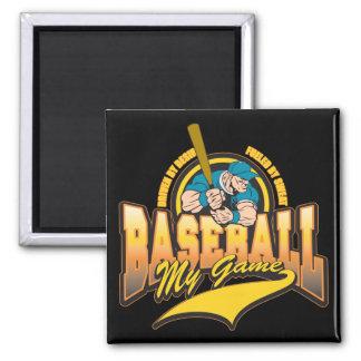 Baseball My Game Refrigerator Magnet