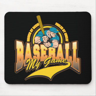 Baseball My Game Mouse Mats