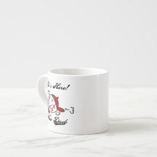Baseball New Dad T-shirts and Gifts Espresso Mug