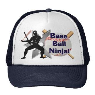 Baseball Ninja Trucker Hat