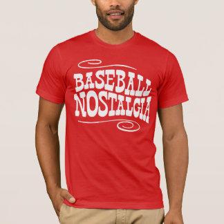 Baseball Nostalgia Red T-Shirt