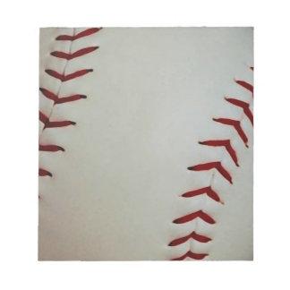 Baseball Notepads