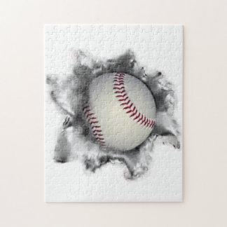baseball novelty jigsaw puzzle