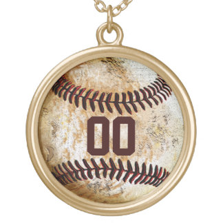Baseball NUMBER Necklace Baseball Girlfriend Ideas