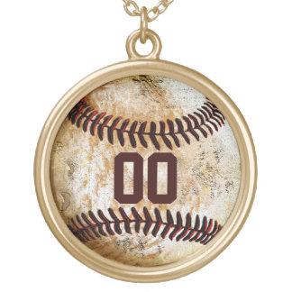Baseball NUMBER Necklace Baseball Girlfriend Ideas