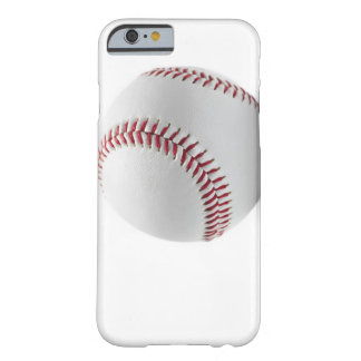 Baseball on white background barely there iPhone 6 case