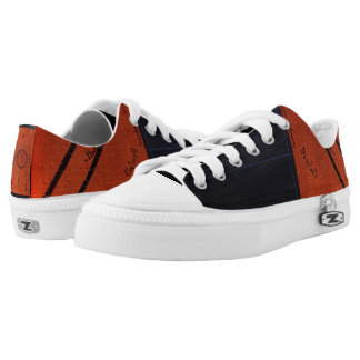 baseball Orange and black shoe
