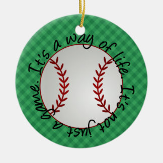 Baseball Ornament - SRF