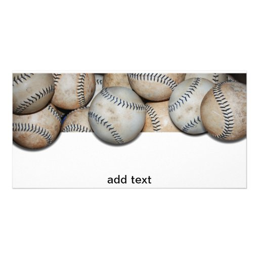 Baseball Overflow Picture Card