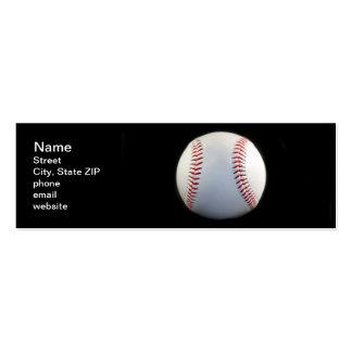 Baseball Pack Of Skinny Business Cards