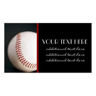 Baseball Pack Of Standard Business Cards