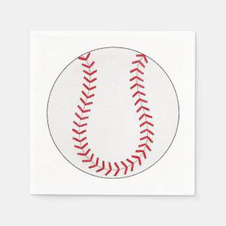 Baseball Paper Napkins