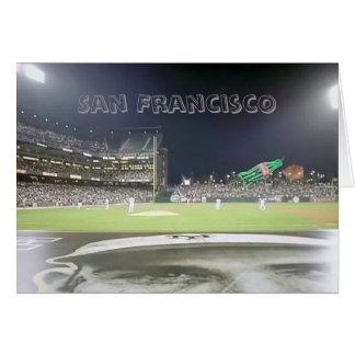 Baseball Park , San Francisco  Card