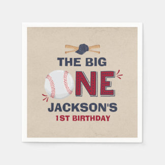 Baseball Party Napkin Baseball 1st Birthday Disposable Serviettes