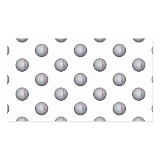 Baseball Pattern Pack Of Standard Business Cards