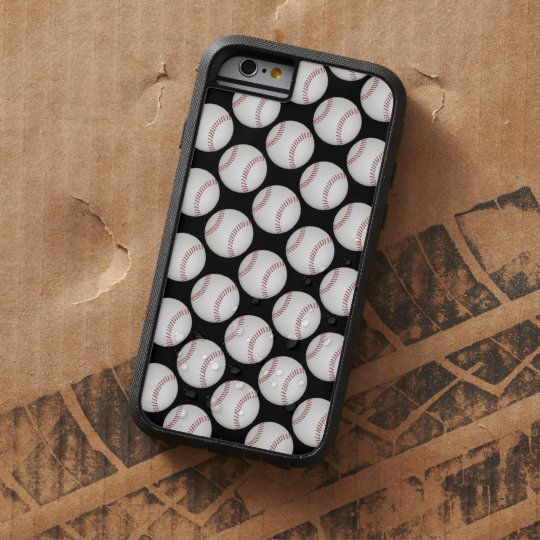 Baseball Pattern Tough Xtreme iPhone 6 Case