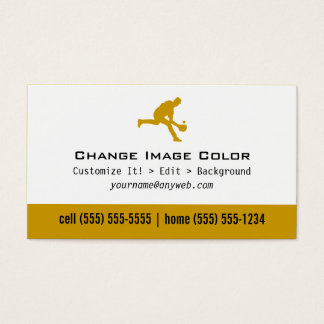 Baseball - Personal Business Card