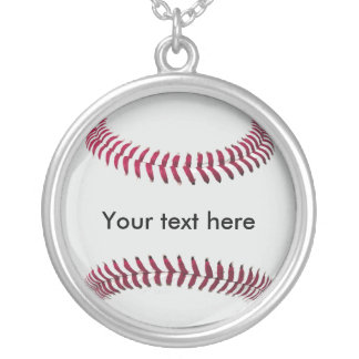Baseball (personalized) Chain and Pendant