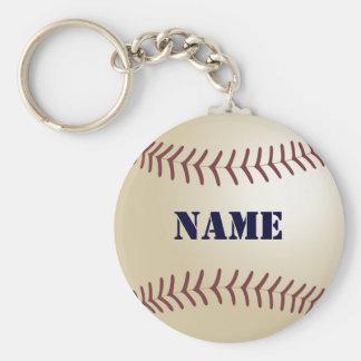 Baseball Personalized Keychain