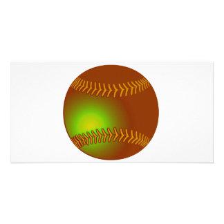Baseball Customized Photo Card