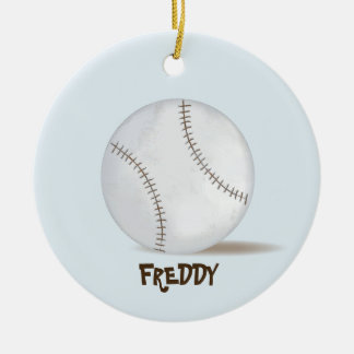 Baseball Photo Ornament