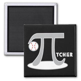 Baseball Pi-tcher - Funny Pi Magnets