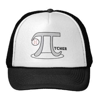 Baseball Pi-tcher - Funny Pi Mesh Hats