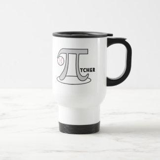 Baseball Pi-tcher - Funny Pi Mugs