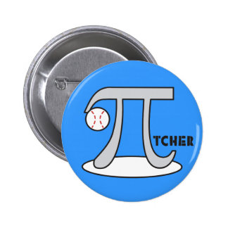 Baseball Pi-tcher - Funny Pi Pins
