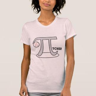 Baseball Pi-tcher - Funny Pi T-shirts