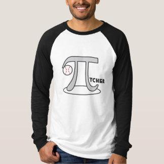 Baseball Pi-tcher - Funny Pi Tshirts