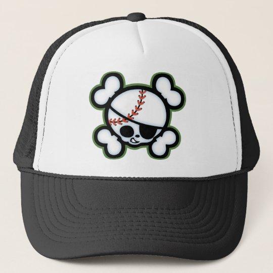 Baseball Pirate -kids Cap