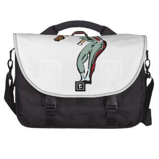 Baseball Pitcher Laptop Bag