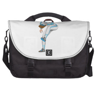 Baseball Pitcher Computer Bag