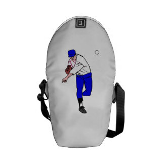 Baseball Pitcher Courier Bags