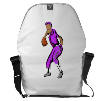 Baseball Pitcher Messenger Bag