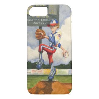 Baseball Pitcher on Mound by Jay Throckmorton iPhone 8/7 Case