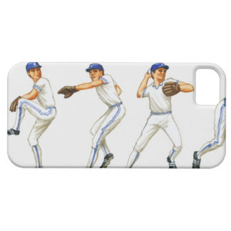 Baseball pitching technique, multiple image barely there iPhone 5 case