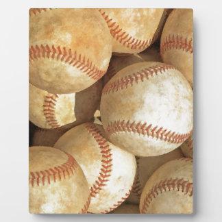 Baseball Plaque