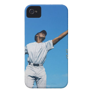 baseball player (16-20) catching ball in iPhone 4 case