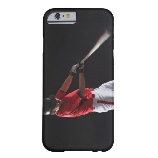 Baseball player about to hit the ball barely there iPhone 6 case
